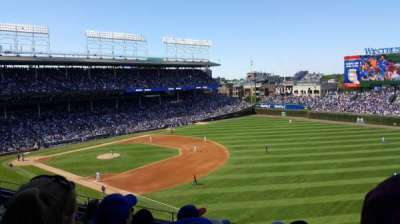 Wrigley Field, section: 436, row: 5, seat: 110