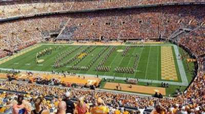 Neyland Stadium, section: Qq, row: 18