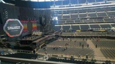 AT&T Stadium, section: C236, row: 1, seat: 7