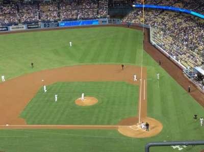 Dodger Stadium, section: 11TD, row: E, seat: 1