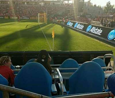 BMO Field, section: 104, row: 2, seat: 11