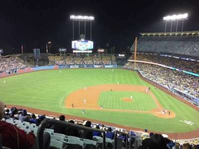 Dodger Stadium, section: 11RS, row: U, seat: 24