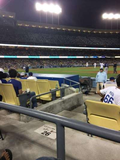 Dodger Stadium, section: 26FD, row: A, seat: 6