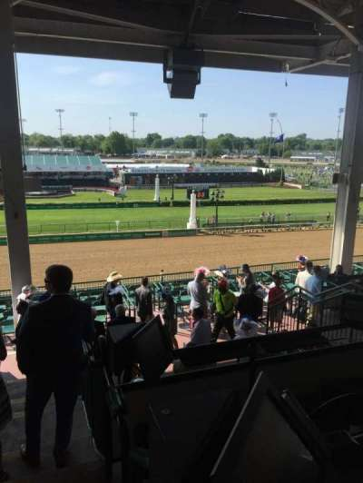Churchill Downs, section: 317, row: H, seat: 1
