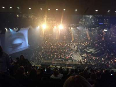 Madison Square Garden, section: 224, row: 15, seat: 6