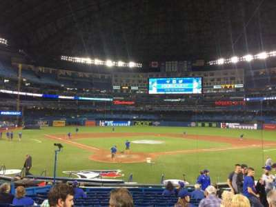 Rogers Centre, section: 120L, row: 18, seat: 109