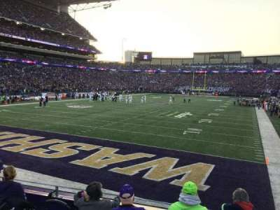 Husky Stadium, section: 135, row: 5, seat: 14