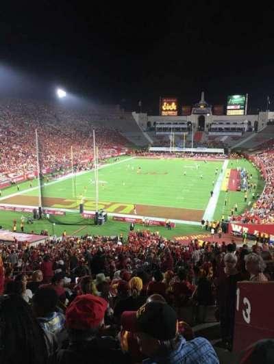 Los Angeles Memorial Coliseum, section: 13L, row: 57, seat: 2