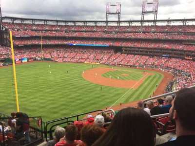 Busch Stadium, section: 369, row: 8, seat: 4