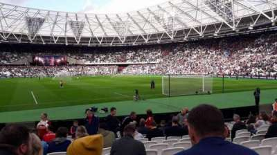 Olympic Stadium, London, section: 118, row: 13, seat: 86