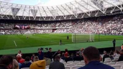 London Stadium, section: 118, row: 13, seat: 86