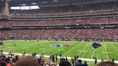 NRG Stadium, section: 124, row: Y, seat: 23