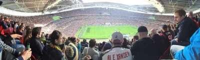 Wembley Stadium, vak: 503, rij: 24, stoel: 81