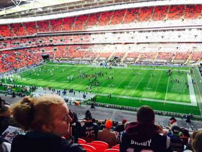 Wembley Stadium, section: 524, row: 12