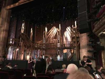 PrivateBank Theatre, section: ORCH-R, row: J, seat: 10