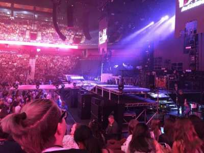 Mohegan Sun Arena, section: 14, row: J, seat: 13