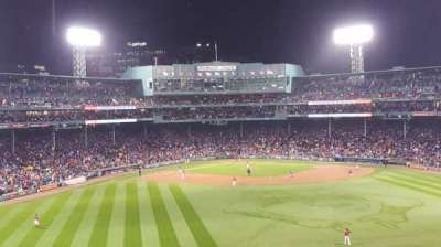 Fenway Park, section: Bleacher 37, row: 35