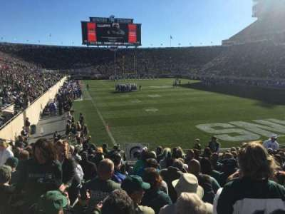 Spartan Stadium, section: 3, row: 17, seat: 33