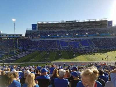 Commonwealth Stadium, section: 5, row: 42, seat: 9