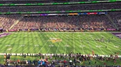 U.S. Bank Stadium, section: C7, row: 2, seat: 15