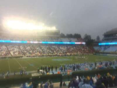 Kenan Memorial Stadium, section: 122, row: Z, seat: 2