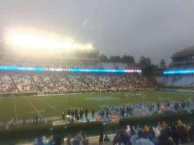 Kenan Memorial Stadium, section: 122, row: Z, seat: 2