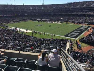 Oakland Alameda Coliseum section 235