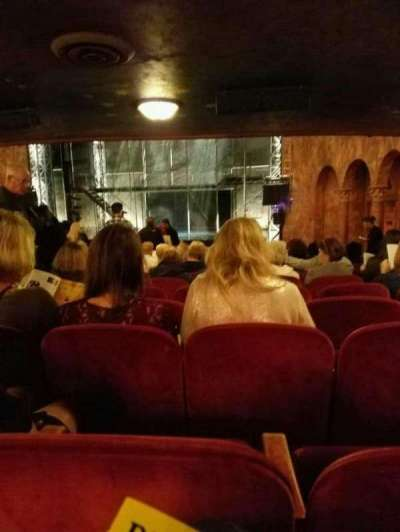 August Wilson Theatre, section: Orchr, row: w, seat: 6
