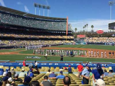 Dodger Stadium, section: 20FD, row: S, seat: 6