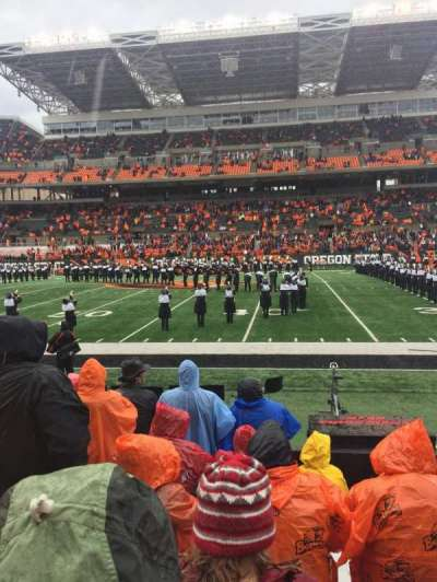 Reser Stadium, section: 12, row: 8, seat: 23