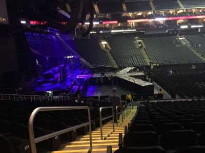 Sprint Center, section: 107, row: 22, seat: 23