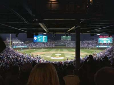 Wrigley Field, section: 222, row: 17, seat: 110