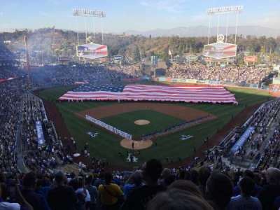 Dodger Stadium, section: 2RS, row: R, seat: 1