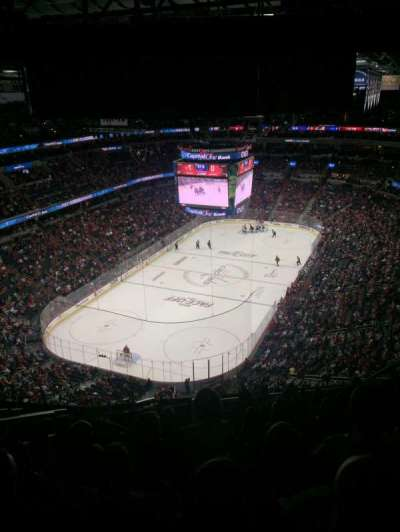 Verizon Center, section: 428, row: P