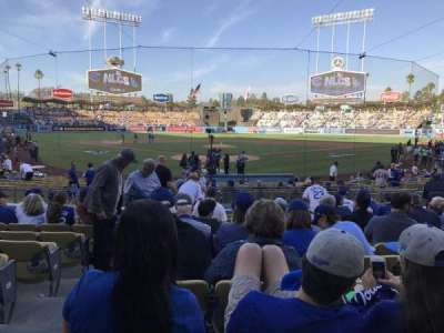 Dodger Stadium, section: 2fd, row: l, seat: 2