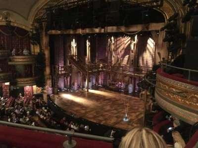 Richard Rodgers Theatre, section: Front Mezzanine, row: B, seat: 28