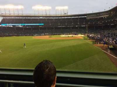 Wrigley Field section 302