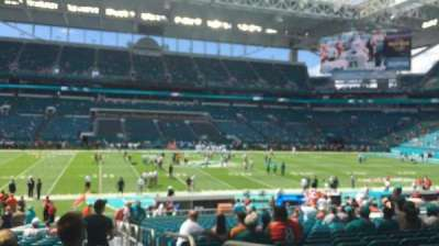 Hard Rock Stadium, section: 120, row: 26, seat: 1,2