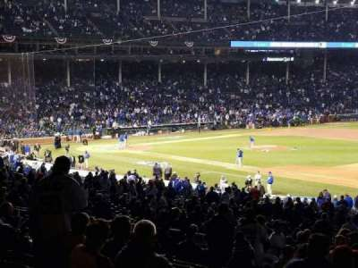 Wrigley Field, section 235, row 14, home of Chicago Cubs