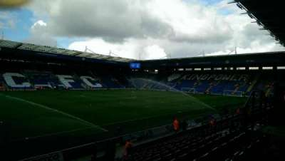 King Power Stadium, section: H1, row: P, seat: 132