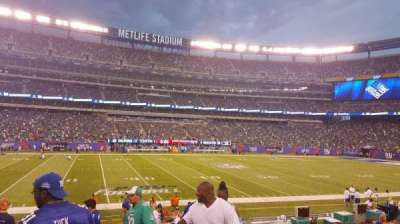 MetLife Stadium, section: 142, row: 16, seat: 1