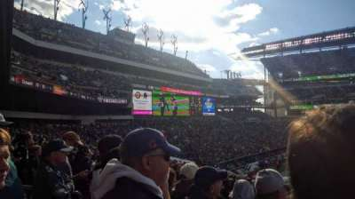 Lincoln Financial Field section 117