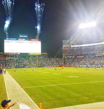 Nissan Stadium, section: 103, row: B, seat: 6
