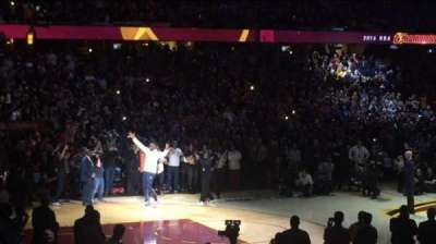 Quicken Loans Arena section 124