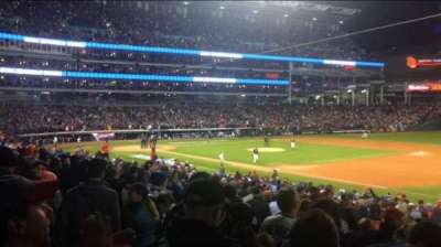 Progressive Field, section: 134, row: AA, seat: 5
