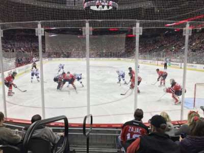 Prudential Center, vak: 13, rij: 5, stoel: 12