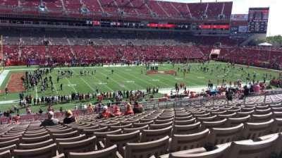Raymond James Stadium, section: 207, row: W, seat: 10