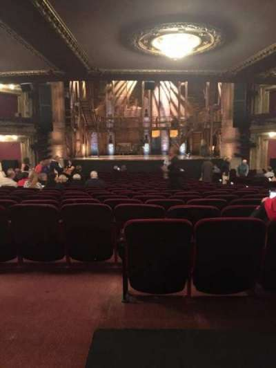 PrivateBank Theatre, section: Orchestra, row: Y, seat: 112