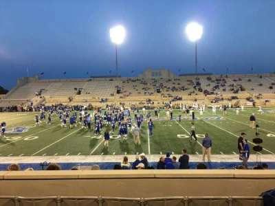 H. A. Chapman Stadium, section: 118, row: 15, seat: 10