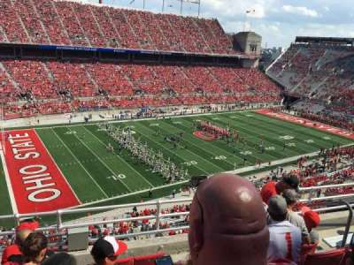 Ohio Stadium, section: 13, row: 6, seat: 25
